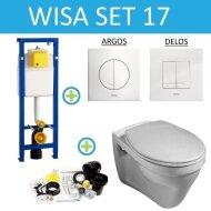 Wisa XS set17 Gustavberg Saval Vlakspoel (Met Argos of Delos drukplaat)