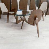 Vloertegel Cristacer Dolomite M-131 60x120 cm Porselein White Pulido (Doosinhoud: 1,44 m2)