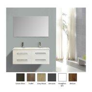 Badkamermeubelset Sanicare Q14 4 Laden Belluno-Eiken (spiegel optioneel)
