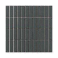 Mozaïek London 30x30 cm Onverglaasd Porselein Rechthoek, Mat Antislip En Zwart (Prijs Per 0.90 m2)