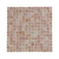 Mozaïek Amsterdam Goud 32.2x32.2 cm Glas Met Goude Ader En Rose (Prijs Per 1.04 m2)
