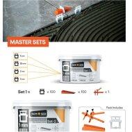 Tegel Leveling Systeem Master Set 1mm