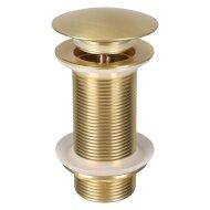 Wastafel Afvoerplug Differnz Pop Up Design 9.8 cm Goud