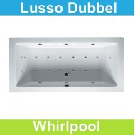 Ligbad Riho Lusso 180 x 80 cm Whirlpool Dubbel systeem
