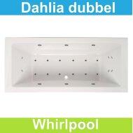 Whirlpool Boss & Wessing Dahlia 180x80 cm Dubbel systeem