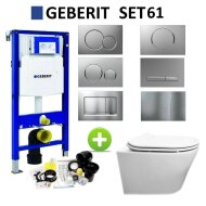 Geberit UP320 Toiletset Design Randloos Modo Set 61