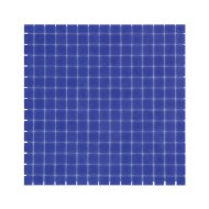 Mozaïek Amsterdam Basic 32.2x32.2 cm Glas Met Fijne Korrels Donker Blauw (Prijs Per 1.04 m2)