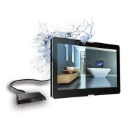 Led TV Aquasound Waterproof 27Inch Opbouw model DVB-C (CI+) / DVB T/ DVB-T2, HDMI-CEC