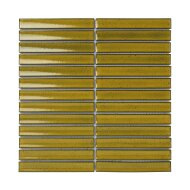 Mozaïek Sevilla Kit-Kat 29.6x29.9 cm Geglazuurd Porselein, Glanzend Geel (Prijs Per 0.89 m2)