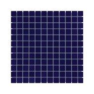 Mozaïek Barcelona 30x30cm Geglazuurd Porselein Glanzend Donker Blauw (Prijs Per 0.90 m2)