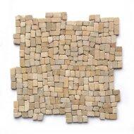Mozaiek Random Small Yellow Sand Sandstone 30x30 cm (Prijs per 1m²)