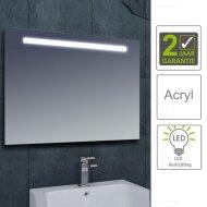 BWS LED Spiegel Tigris met Lichtschakelaar 100x80x3.1 cm (incl bevestigingsmateriaal)