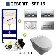 Geberit up100 set19 O.novo met Delta drukplaten