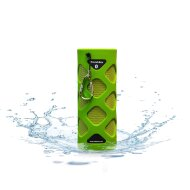 Bluetooth Sound-Box Aquasound Waterproof (IPX5) + USB oplaadkabel Groen