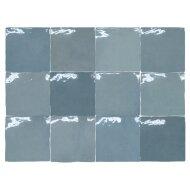 Wandtegel Rajoles Tesanal Azul Brillo 13x13 cm (doosinhoud: 1,00 m2 per doos)
