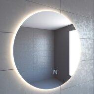 Badkamerspiegel Boss & Wessing Rond Deluxe 2.0 LED Verlichting Warm White (ALLE MATEN)