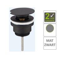 BWS Draaiwaste Luxe 5/4 Laag Mat Zwart