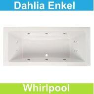 Whirlpool Boss & Wessing Dahlia 180x80 cm Enkel systeem |