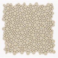 Mozaiek Jos Strucco Plaster Pebbles 30x30cm Arena (doosinhoud 0.99 m2)