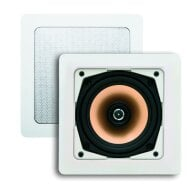 Speakerset Aquasound Samba (draaibare Tweeter) Wit Vierkant 177x177 mm