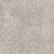 Vloertegel Cristacer Decorado Montblac Gris 60x60cm (Doosinhoud 1,08M²)
