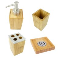Complete accessoireset Bamboe (4-delig)
