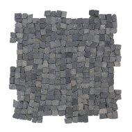 Mozaïek Random Small Gray Blue Marmer 30x30 cm (Prijs per 1m²)