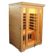 Infrarood Sauna Komfort 120x120 cm 1850W 2 Persoons