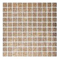 Mozaïektegel The Mosaic Factory Barcelona 25x25 mm Hamerslag Porselein Rose Goud