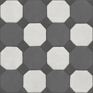 Vloertegel Jos Strucco Plaster Decor 80x80 cm Gris (doosinhoud 1.28 m2)