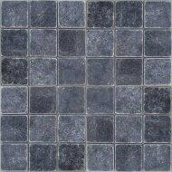 Wandtegel Marmer Karia Black Natuursteen 10x10 cm