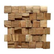 Mozaïek Hout Old Teak (P 09) 30x30 cm (Prijs per 1m²)