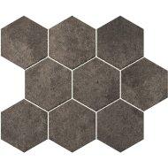 Hexagontegel Cristacer Umbria Grafito 35.5x29.2 cm