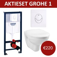 Aktie Toiletset Grohe Rapid SL met Basic Smart pot en Skate Air drukplaat