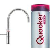 Quooker Fusion Round Steel met Combi + Boiler