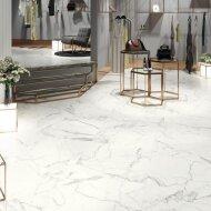 Vloertegel Cristacer Sena M-131 60x120 cm Porselein White Pulido (Doosinhoud: 1,44 m2)