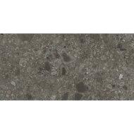 Vloertegel Nover Black 40x80 cm Zwart (doosinhoud 1.28 m2)