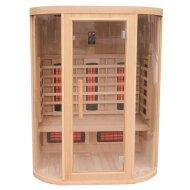 Infrarood Sauna New York 152x112 cm 2800W 3 Persoons