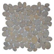 Mozaïek Oval Sunset Brown Marmer 30x30 cm (Prijs per 1m²)