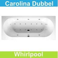 Ligbad Riho Carolina 180 x 80 cm Whirlpool Dubbel systeem