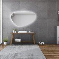 Spiegel Gliss Design Trendy Oval LED Verlichting 80cm