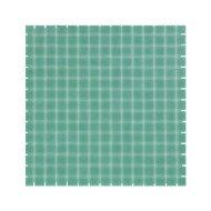 Mozaïek Amsterdam Basic 32.2x32.2 cm Glas Met Fijne Korrels Jade Groen (Prijs Per 1.04 m2)