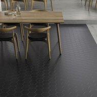 Hexagon Vloertegel Timeless Black 15x17 cm Mat Zwart (doosinhoud 0.58 m2)