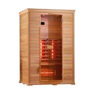 Infrarood Sauna Classico 130x100 cm 2100W 2 Persoons