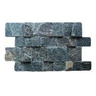 Mozaïek Black Slate 25x40 cm (Prijs per 0,5m²)