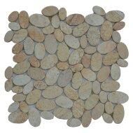 Mozaïek Oval Yellow Sand Sandstone 30x30 cm (Prijs per 1m²)
