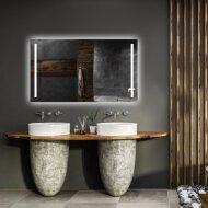 Spiegel Gliss Design Verticaal Led Standaard Dubbele LED Verlichting 70cm
