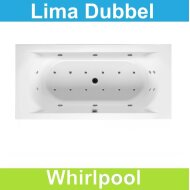Ligbad Riho Lima 170 x 75 cm Whirlpool Dubbel systeem