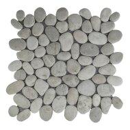 Mozaiek Mat Pebble Regular S Asian Tan Sea Stone 30x30 cm (Prijs per 1m²)