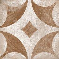 Vloertegel Ravena Geel Bloem Motief 22,5 x 22,5 cm (doosinhoud: 1 m2)